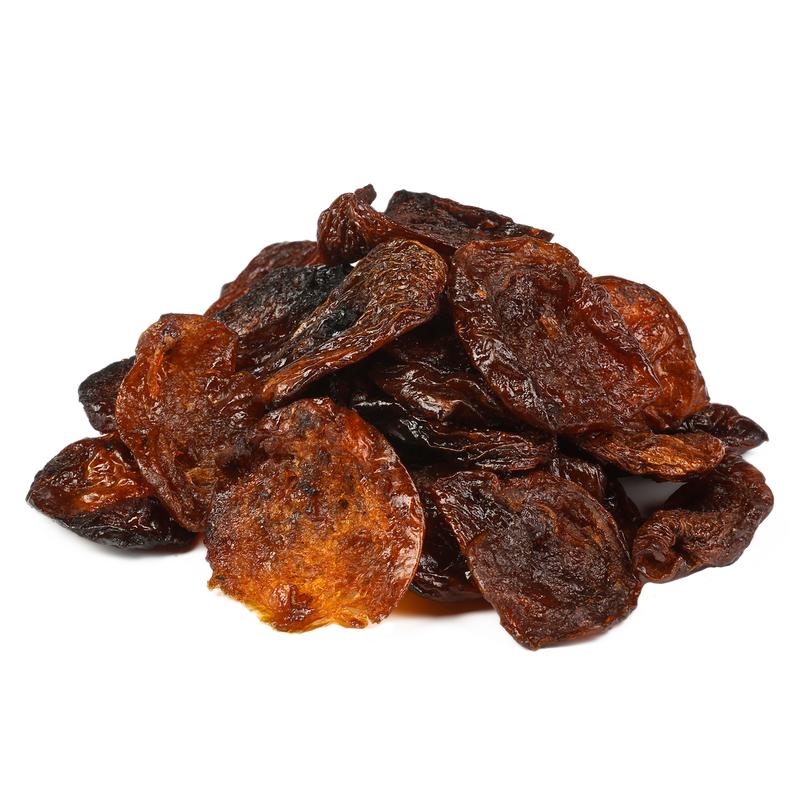 Organic sun-dried wild apricot halves, extra large, Fairtrade, Uzbekistan