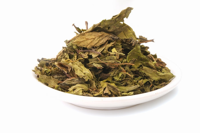 Organic Fairtrade spearmint whole leaves leaf tea