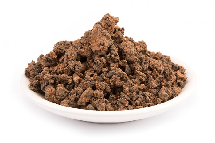 "Organic Mulberries black ""Shotut"" diced with raw cacao powder"