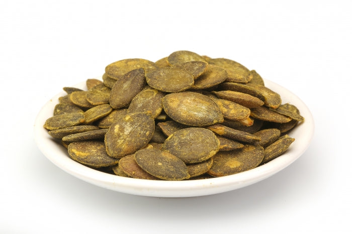 Roasted and salted pumpkin seeds gluten free organic