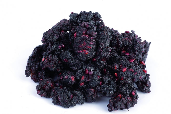 "Organic Black Mulberries ""Shotut"", sticky, Uzbekistan"