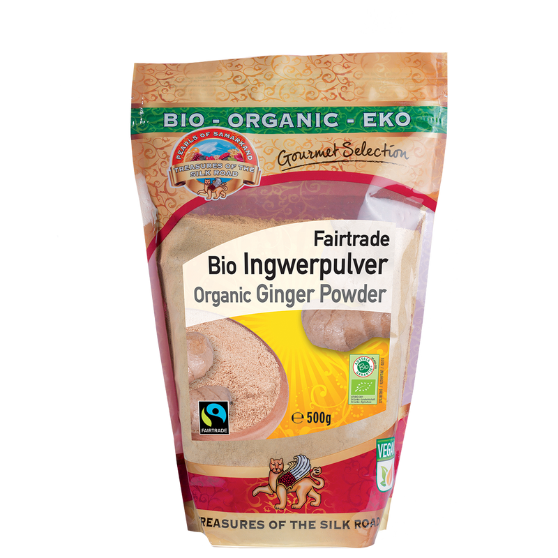 Organic FAIRTRADE Ginger Powder