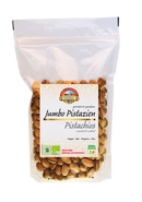 Pistachios with shell roasted salted Organic 600g
