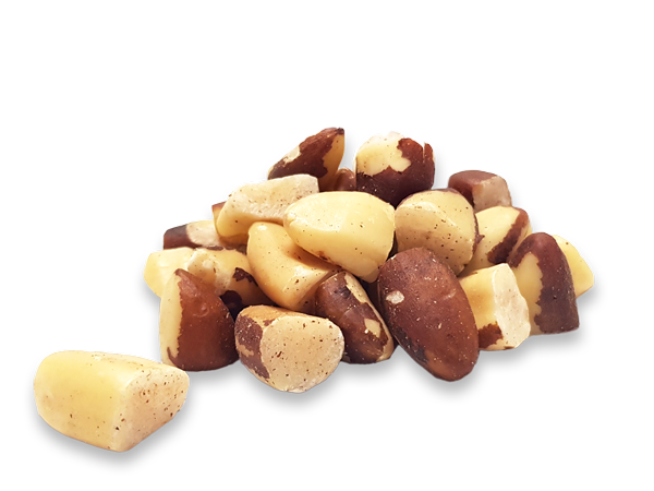 Organic Brazil nuts large broken pieces