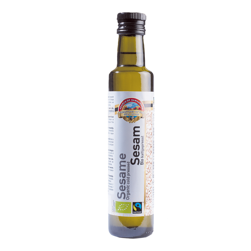 Organic FAIRTRADE Sesame Oil