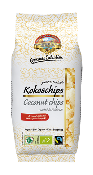 Organic FAIRTRADE Coconut chips roasted