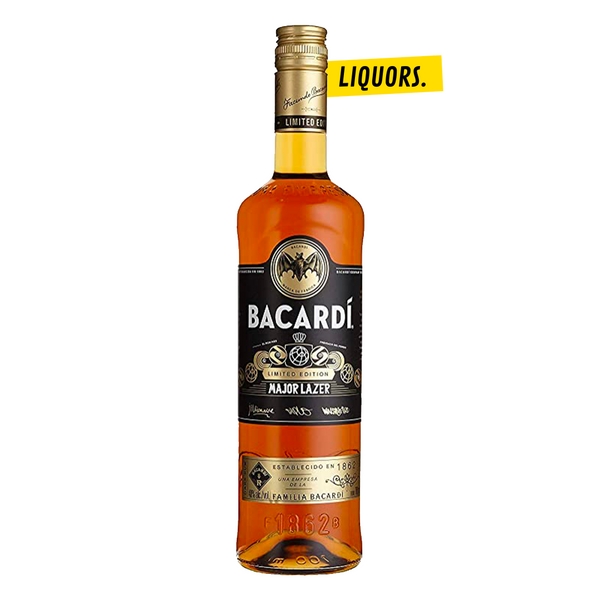 Bacardi Rhum Major Lazer Edition 0,7L (40% Vol.)