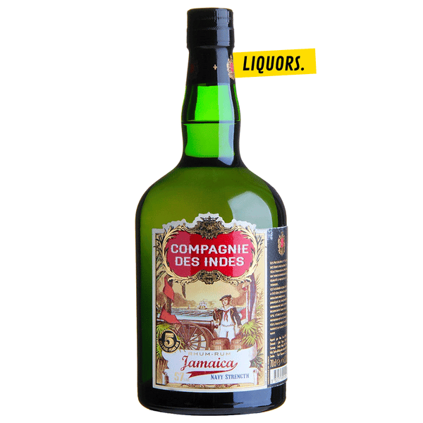Compagnie Des Indes - Jamaica Navy Strength 0,7L (57% Vol.)