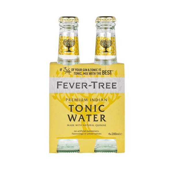 FEVER-TREE Tonic Water Pack 4x200ML
