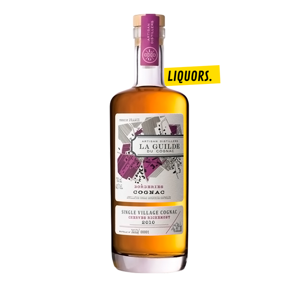 LA GUILDE DU COGNAC Borderies Cherves-Richemont 0,7L (40% Vol.)