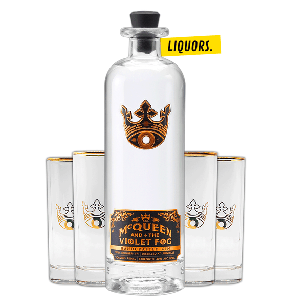 McQueen and the Violet Fog Gin 0.7L (40% Vol.)