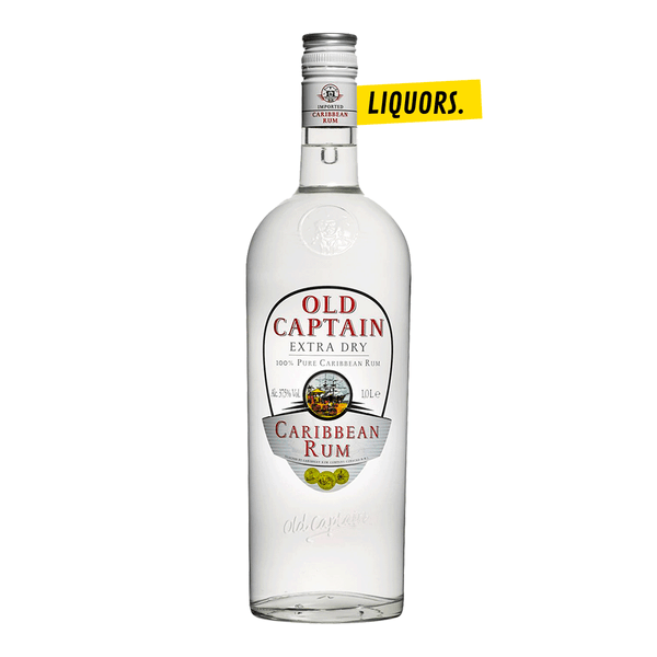 Old Captain White Rhum 0,7L (37,5% Vol.)