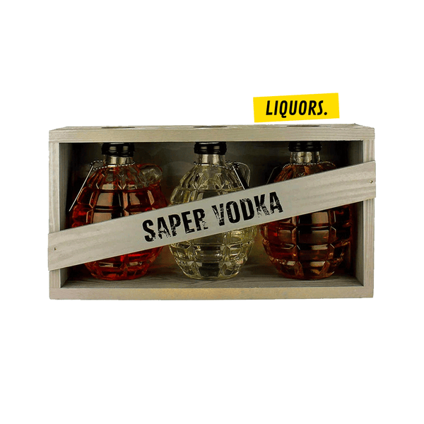 SAPER VODKA 3x20cl (40% Vol.)