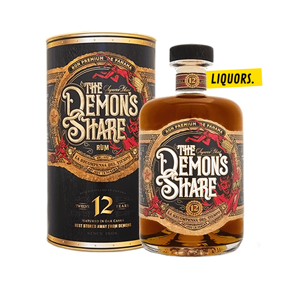 The Demon's Share 12 ans 0,7L (41% Vol.)