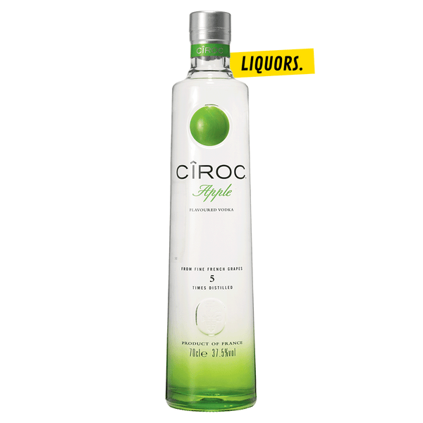 Vodka Cîroc Apple 0,7L (37,5% Vol.)
