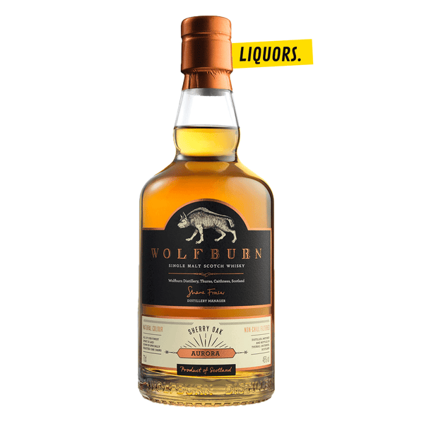 Wolfburn Aurora Sherry Oak 0,7L (46% Vol.)
