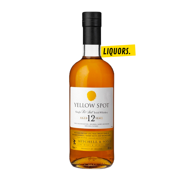 YELLOW SPOT 12 ANS SINGLE POT STILL 0,7L (40% Vol.)