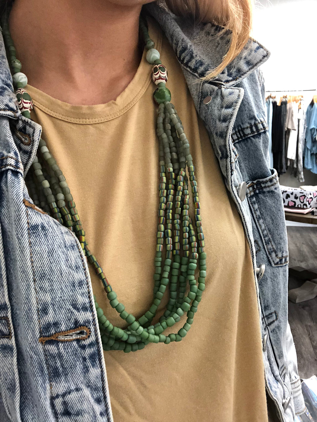 Green/Blue Necklace