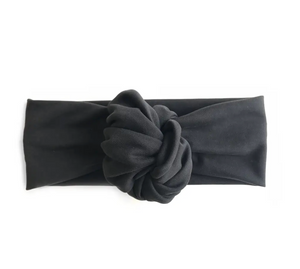 Black Knotted Headband