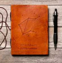 Load image into Gallery viewer, Zodiac Handmade Leather Journal