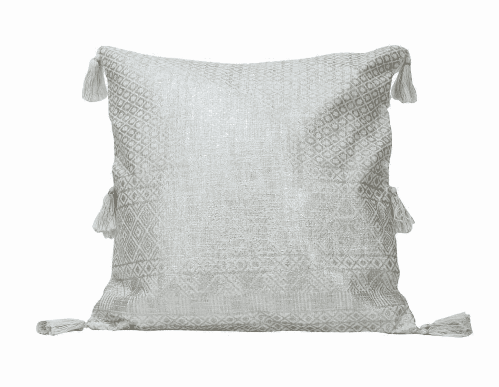 Handwoven Shimmer Pillow
