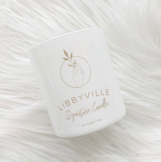 Libbyville Signature Candle