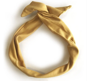 Classics Twisted Headband - Yellow
