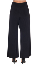 Load image into Gallery viewer, Black Drape Pant