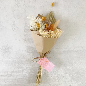 Natural Wrapped Floral Bouquet