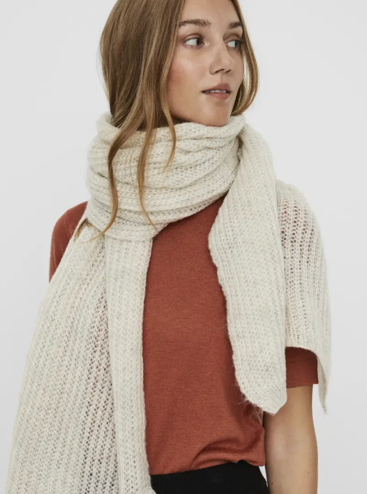 Camile Long Knitted Scarf