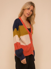 Load image into Gallery viewer, O'Lilly Color-block Cardigan