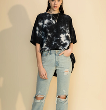 Load image into Gallery viewer, Mercury Tee- Oversized + Distressed