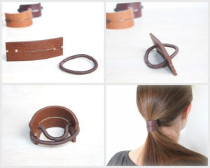 Leather Hair Band