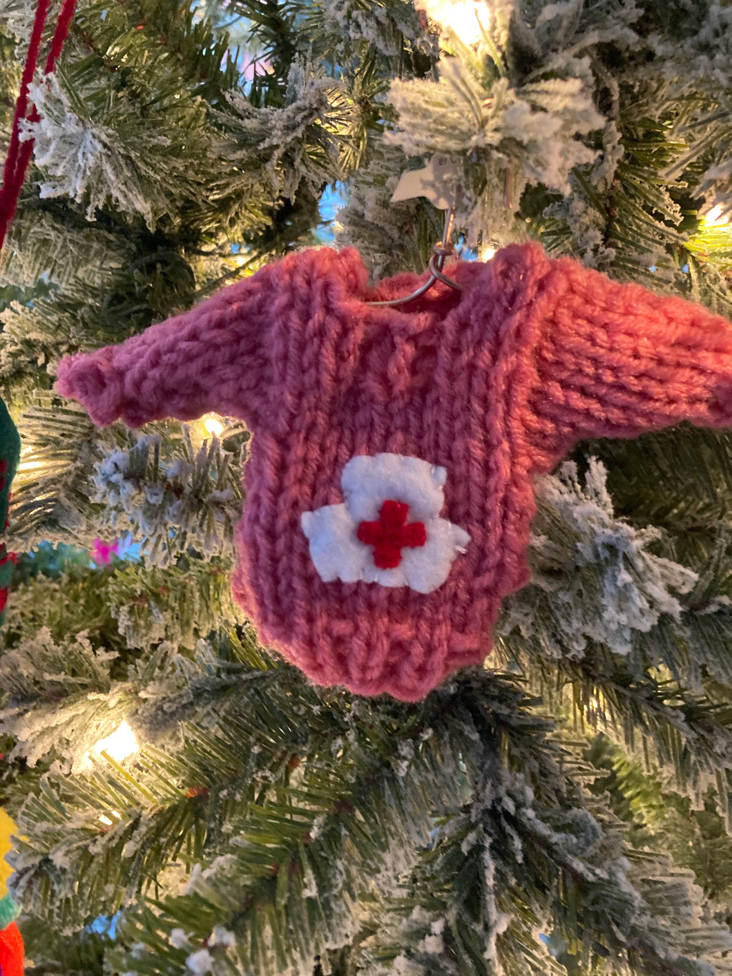 Nurse Hat Ornament