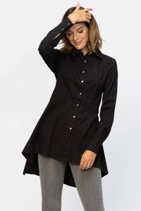 Bell Blouse- black