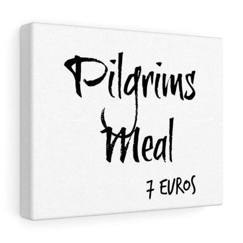 Pilgrims Meal Canvas Gallery Wraps