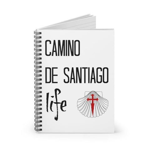 Camino Spiral Notebook - Ruled Line