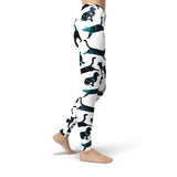 Jean Black Space Cats Leggings