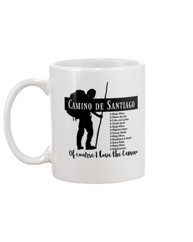 Favorite Camino Things 11oz Mug