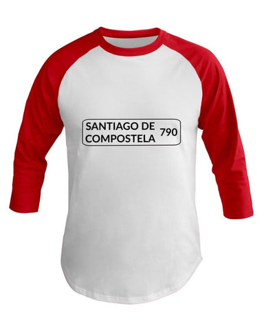 790 K Sign 3/4 Sleeve Raglan Shirt