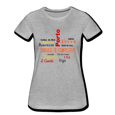 Womens Premium T-Shirt - heather gray