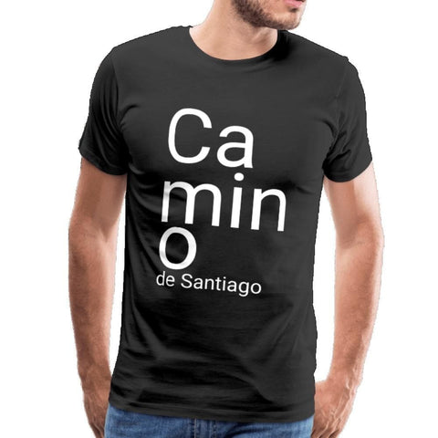 Camino Men's Premium T-Shirt - black