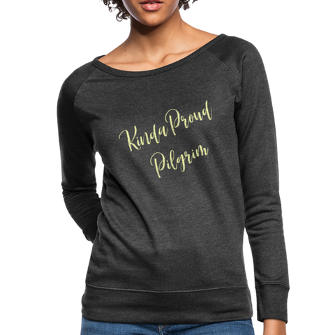 Proud Pigrim Women's Crewneck Sweatshirt - heather black