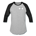 Camino 2021 Baseball T-Shirt - heather gray/black