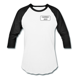 Camino 2021 Baseball T-Shirt - white/black