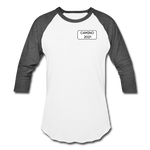 Camino 2021 Baseball T-Shirt - white/charcoal