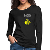 Camino 2021 Women's Premium Long Sleeve T-Shirt - black