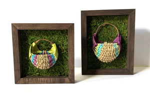 Rectangular Shadow Box Basket