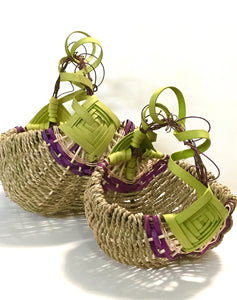 Grapevine Handle Basket