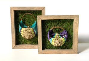 Square Shadow Box Basket